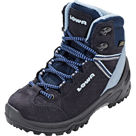Lowa Ledro GTX Mid Shoes Kinder navy/light blue